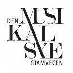 Den Musikalske Stamvegen logo-svart