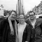 Tom, Eva og Tor. foto Stein Inge Brækhus